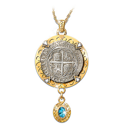 Sao Jose Shipwreck Silver Pendant Necklace: Sao Jose Sunken Treasure