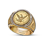 The 1839 $5 Eagle Proof Men's Ring
