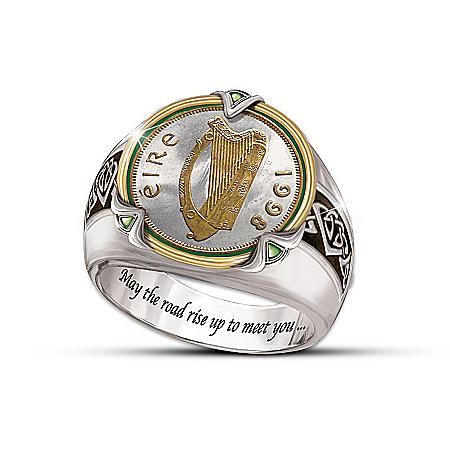 Irish Coin Men's Ring