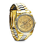 Men's Watch - The 1849 $20 Eagle Proof Men's Watch