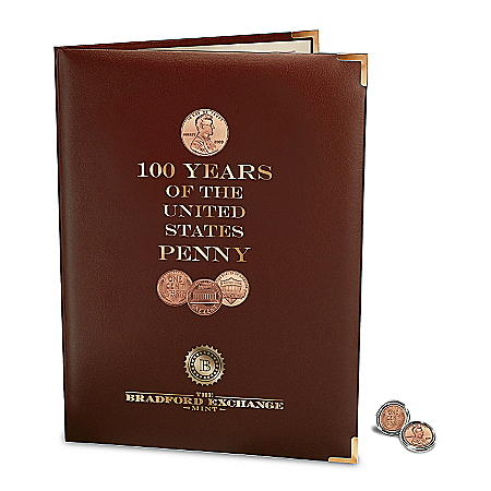 Coins: 100 Years Of Lincoln Pennies Coin Set