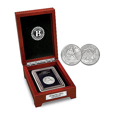 Coin: The Seated Liberty Silver Half Dollar Coin