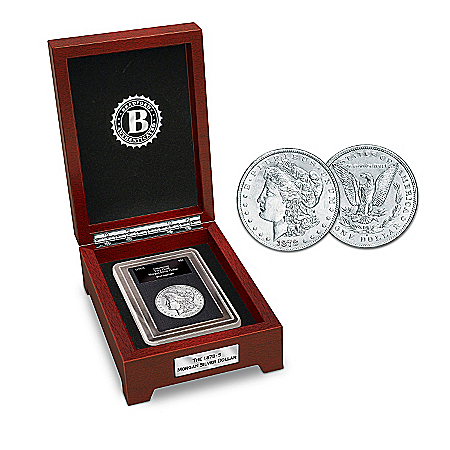 Coin: The First San Francisco Morgan Silver Dollar Coin