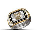Men's Ring - The Morgan Silver Ingot Ring