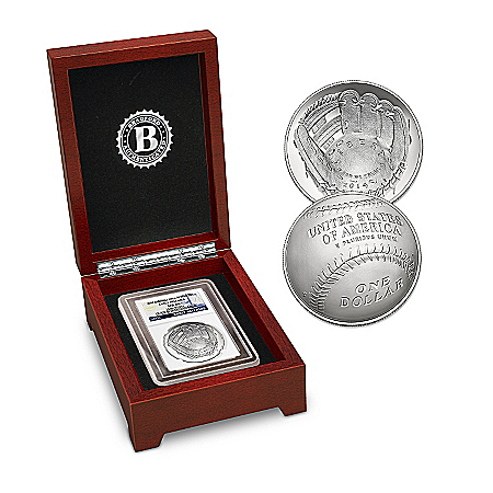Coin: The 2014 Baseball Hall Of Fame Silver Dollar Coin