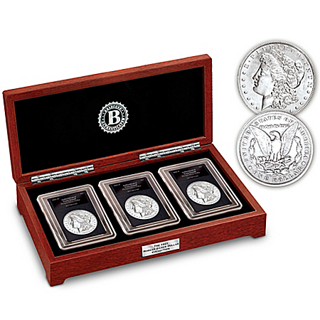 The Complete Last Year Of Issue 1921 Morgan Silver Dollar Minted Coin Set