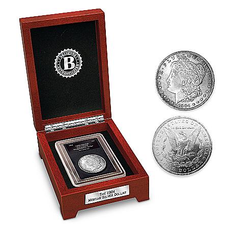 """Coin: The Last """"Original"""" Morgan Silver Dollar Coin"""