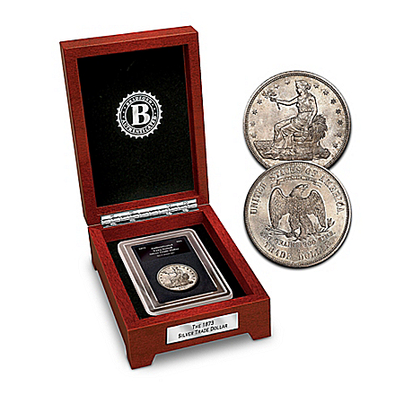 The First U.S. Trade Collectible Silver Dollar Coin Minted From 1873 - 1885