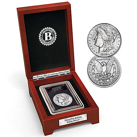 The 1879 Error Morgan 90% Silver Dollar Collectible Coin