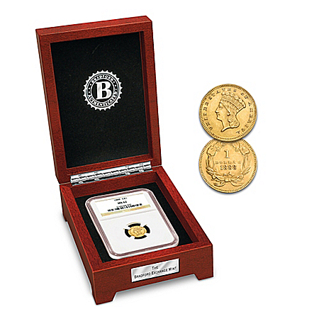 Indian Princess America's Last Circulated Gold Coin With Display Box