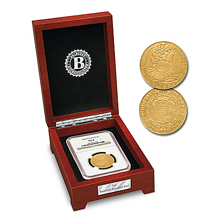 America's First $10 Gold Piece Coin With Display Box