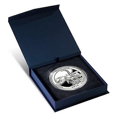 The 2014 Everglades National Park 5 Troy Oz. Silver Bullion Coin
