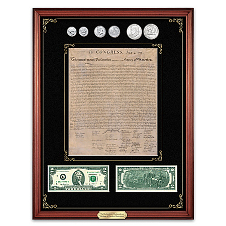 The Declaration Of Independence Heritage Of Freedom Currency Set