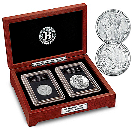 The Walking Liberty 100th Anniversary Silver Coin Set
