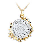 Today, Tomorrow And Always 18K Gold-Plated Pendant Necklace