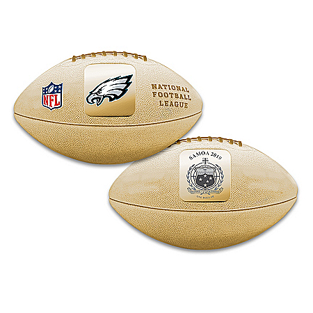 World's First Philadelphia Eagles 3D Football Coin