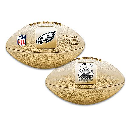 World's First Philadelphia Eagles 3D Football Coin