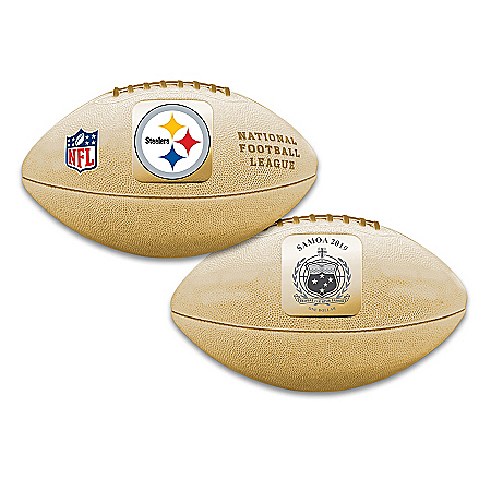 World's First Pittsburgh Steelers 3D Football Coin
