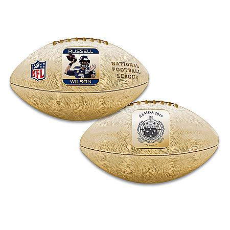 World's First Russell Wilson 3D Football Coin