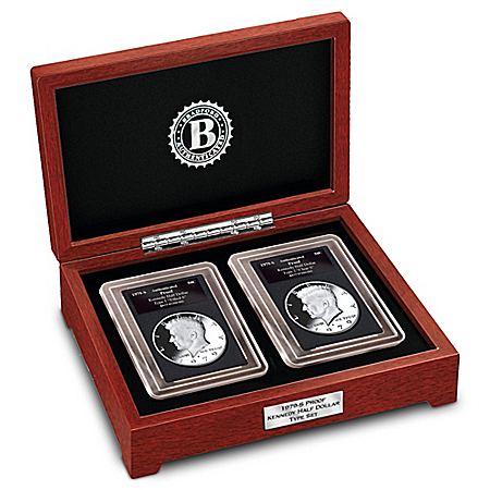 The 1979-S Variety Kennedy Mint Proof Half Dollar Type Coin Set
