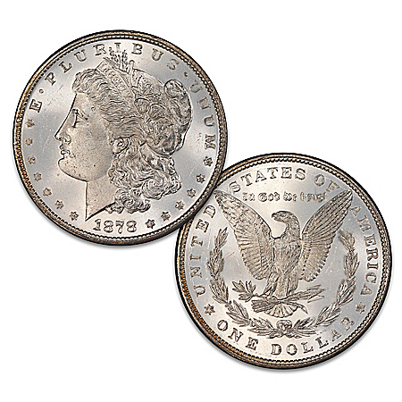 The Rare 1878 Variety Morgan Silver Dollar Coin With An 1879 Reverse