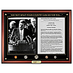The JFK Inaugural Address Masterpiece Framed Wall Decor