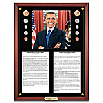 The President Barack Obama Inaugural & Farewell Addresses Wall Decor