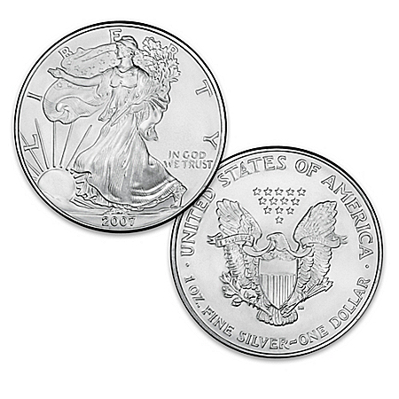 The Last-Ever Original Silver Bullion Eagle Dollar Coin