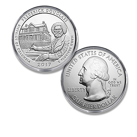 The Frederick Douglass National Historic Site Silver Bullion Coin