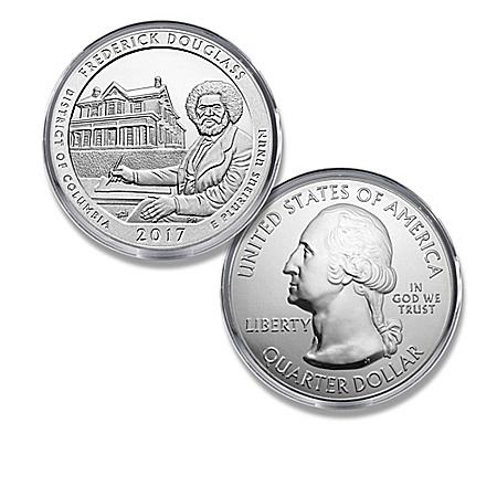 The Frederick Douglass National Historic Site Silver Bullion Coin