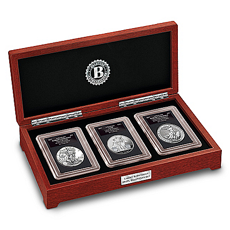 2017 Liberty & Britannia 3-Ounce Silver Legal Tender Coin Set