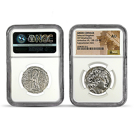 Treasures Of The Seleucid Empire Silver NGC Coin