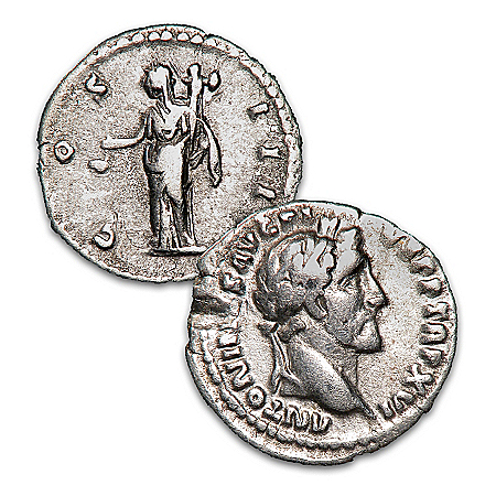 The Seven Hills Hoard Roman Silver Denarius Genuine Ancient Coin