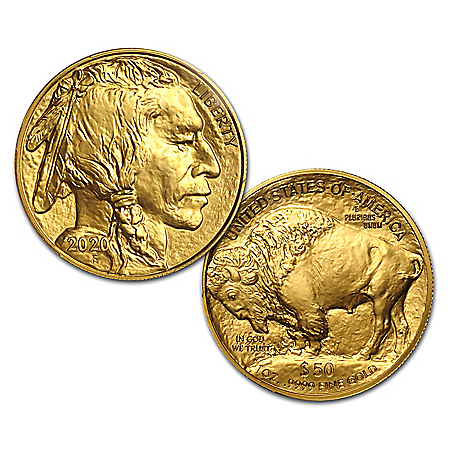 The 2020 Perfect MS-70  Gold Buffalo Coin With Display Box