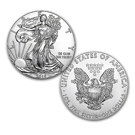 First Strike 2018 American Eagle Silver Dollar Legal Tender Coin
