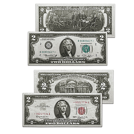 First And Last  Star Note Currency Set With Display Box