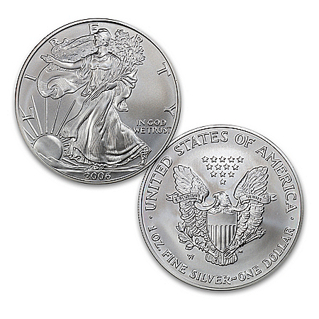 The First Burnished Finish American 99.9% Silver Eagle Coin