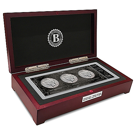 The Complete 1922 Silver Peace Dollar Mint Mark Coin Set