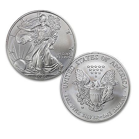 2020 First Strike American Eagle 99.9% Silver Dollar Coin