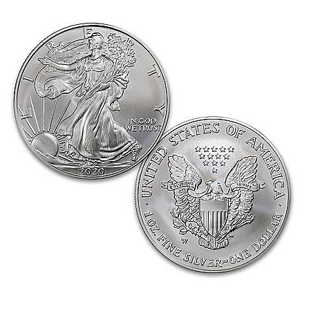 2020 First Strike American Eagle 99.9% Silver Dollar Coin