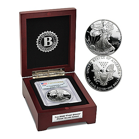 2020 First Strike Proof American Eagle Silver Dollar Coin