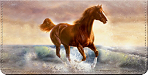 Moments of Majesty Horse Art Checkbook Cover