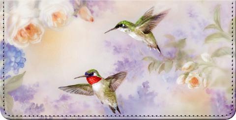 Lena Liu's Flights of Fancy Checkbook Cover