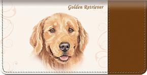 Golden Retriever Checkbook Cover