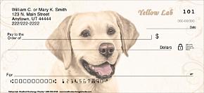 Yellow Lab Personal Checks