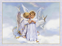 Angel Kisses Notecards