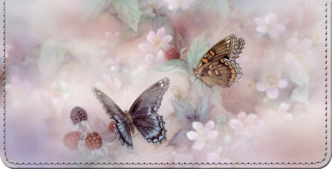 Lena Liu's Enchanted Wings Checkbook Cover
