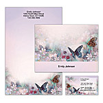 Lena Liu's Enchanted Wings Personalized Stationery
