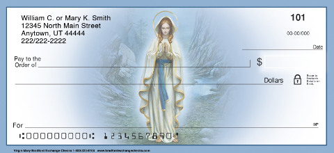 The Virgin Mary Personal Checks