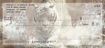 Vanishing Treasures Tiger Personal Checks